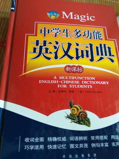 魔法英语(Magic)中学生多功能英汉词典(新课标)汉英字典 晒单图
