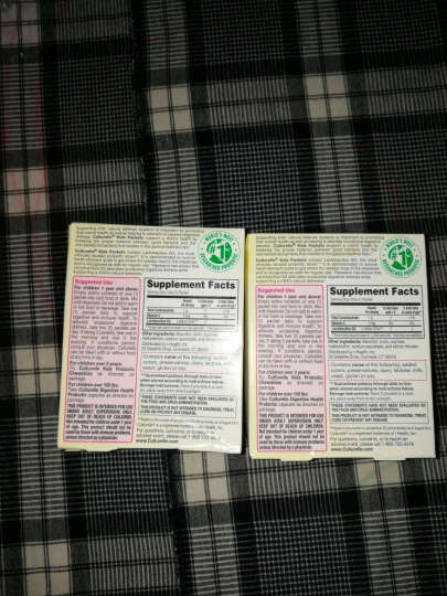 Culturelle 美国原装康萃乐 for kids婴幼儿童LGG益生菌粉调理肠胃湿疹 两盒 晒单图