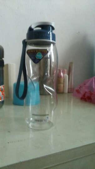 茶花(CHAHUA)塑料水杯随手杯多规格直纹杯 水滴纹 运动杯 家庭水杯 水滴纹3812容量720ml 晒单图