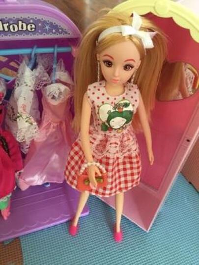 【拍下立减20元】乐吉儿芭比洋娃娃套装玩具大礼盒过家家女孩玩具3 6岁生日礼物换装衣橱梦幻公主屋 梦幻洗衣套装 A071 晒单图