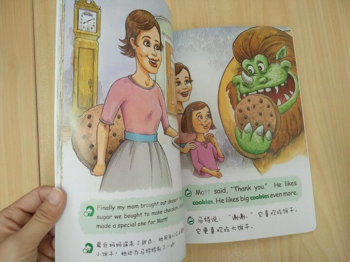 小飞象儿童英语分级亲子共读绘本(预备级全4册) 晒单图