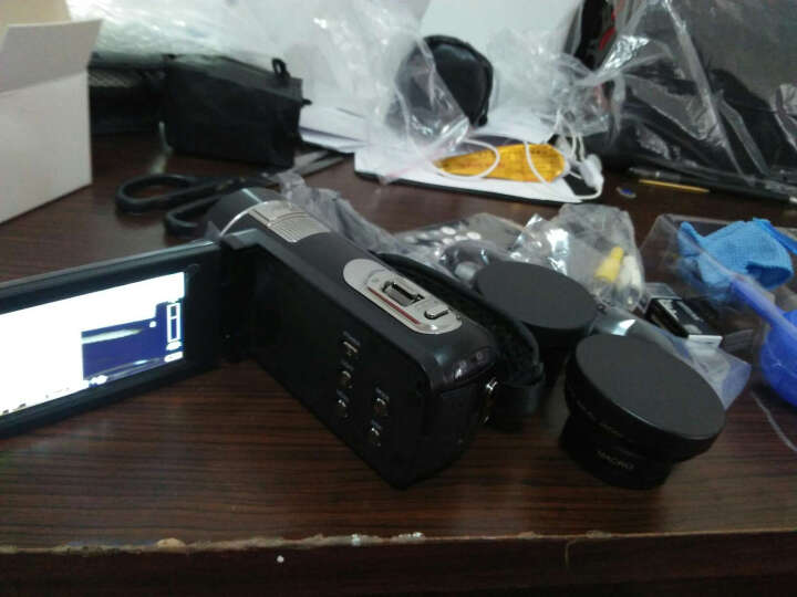 进口欧达 Z8摄像机数码DV全高清闪存双重五轴防抖红外遥控2400万像素16倍变焦家用旅游 黑色 京东送货+电池+32G+三脚架+广角增距送大礼包 晒单图