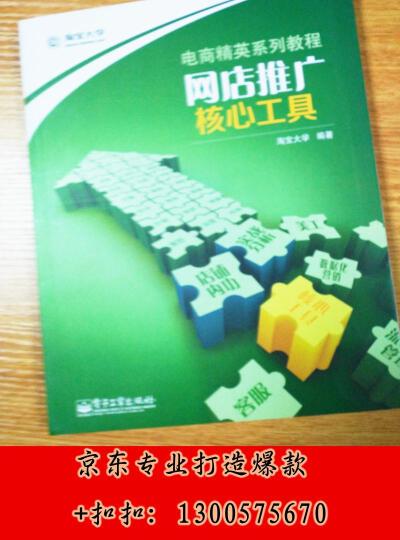 电商精英系列教程:数据化营销(全彩) 晒单图