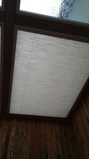 CR9 蜂巢帘阳光房遮阳天棚帘 卧室阳台全遮光拉帘天窗百折窗帘定制 安装费300元 晒单图