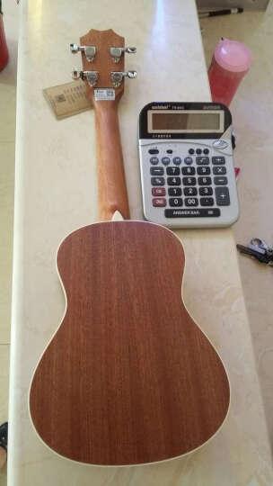 ?Tom 汤姆尤克里里21英寸23英寸26英寸乌克丽丽电箱吉它民谣吉他专业木吉他初学入门新手乐器 云衫木TUC-680M原木色 单板 23寸 晒单图