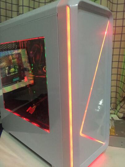 爱国者(aigo)月光宝盒T10 白色 分体式机箱(支持ATX主板/大侧透/USB3.0/七彩LED灯带/HD音频) 晒单图