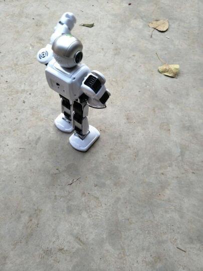 乐能 阿尔法智能模型玩具机器人遥控模型可发射子弹跳舞唱歌学习编程对战玩具 晒单图