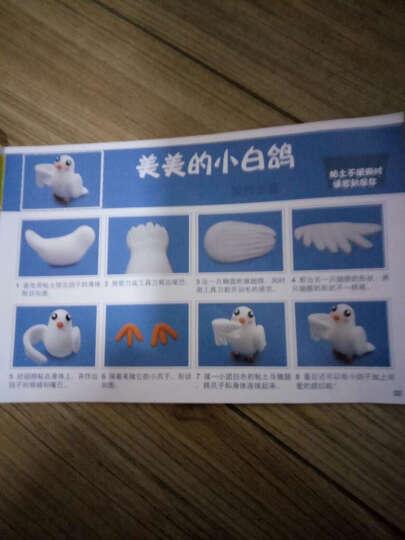 大贸商(DMSbuy)超轻3D彩泥粘土橡皮泥儿童DIY手工制作 12色水晶粘土 晒单图