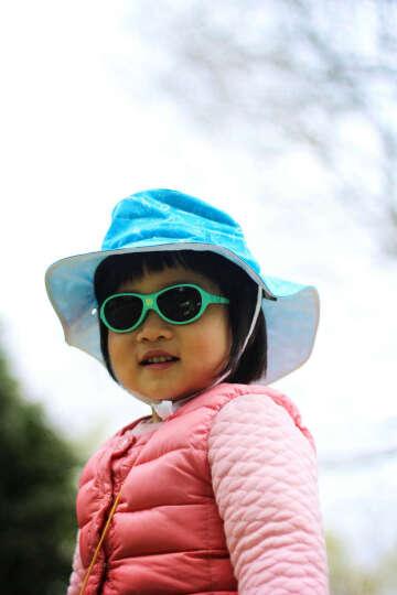 法国 KiETLA进口太阳帽防紫外线婴儿帽 沙滩帽 红色冰激凌 4-6岁(内径52-54cm) 晒单图