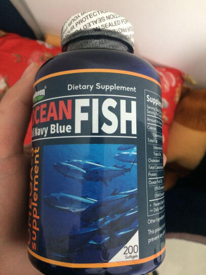 HealKeen 美国原装进口深海鱼油软胶囊200粒*2瓶+大豆卵磷脂120粒*2瓶 晒单图