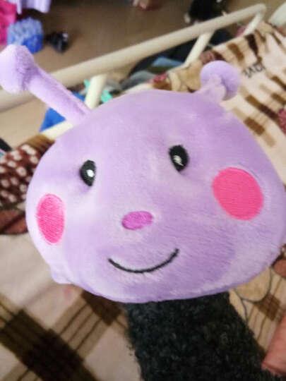卡通七彩毛毛虫毛绒玩具公仔大号虫子睡觉长抱枕枕布娃娃 1.5米 晒单图