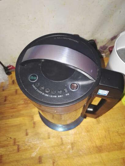 美的(Midea)豆浆机家用全自动双层不锈钢多功能X12Q22 晒单图