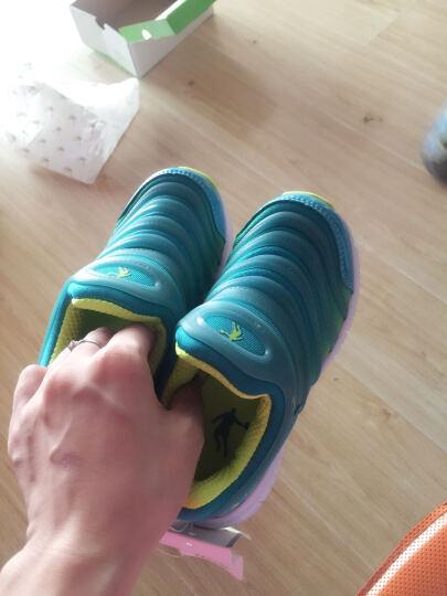 乔丹(QIAODAN)儿童运动鞋 跑步鞋男女童运动鞋年新款小童跑鞋儿童鞋QM3441559 浅绿/亮绿27 晒单图