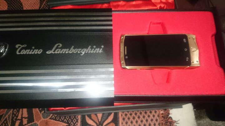 TONION LAMBORGHINI托尼诺兰博基尼ANTARES TL66/88 智能手机 TL88 蓝黑色 晒单图