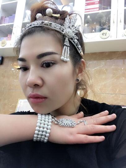 饰衣间 了不起的盖茨比女主角同款华丽印第安珍珠流苏发箍发饰发带 欧美女性装饰配饰 珍珠手链 手链 晒单图