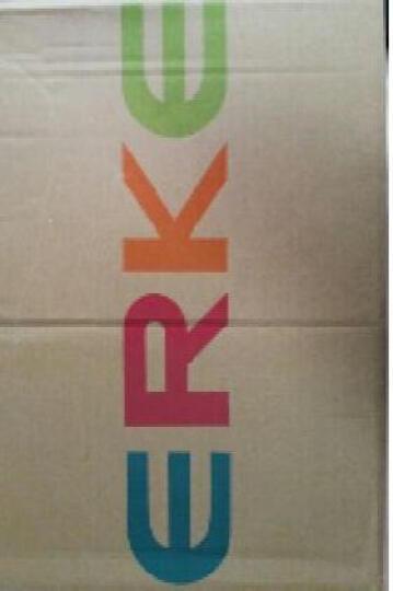 鸿星尔克男鞋运动鞋秋冬季减震全掌气垫鞋情侣款 水肺蓝/橙红色(女款) 37/女 晒单图