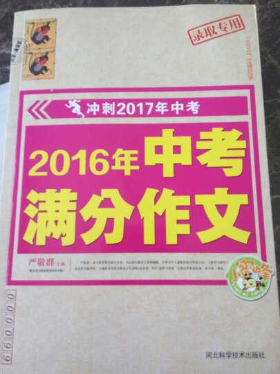 2016年中考满分作文(冲刺2017年中考) 晒单图