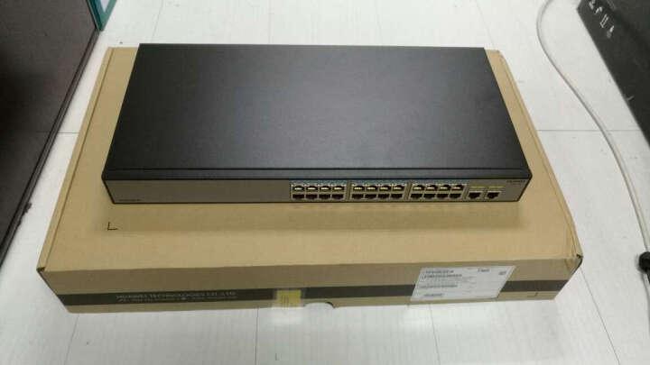 华为(HUAWEI) S1700-52R-2T2P-AC 48口百兆2千兆光2千兆电机架式交换机 晒单图