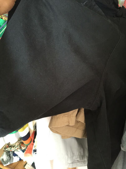 奥登卡 夏天薄款纯棉大码工装男士短裤 纯色修身五分裤沙滩裤 休闲短裤男 宝蓝色DK10 2XL 晒单图