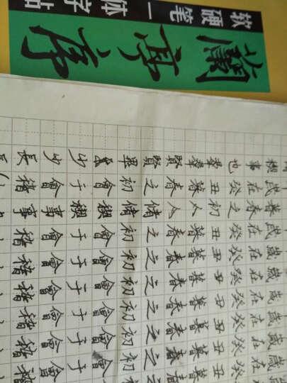 软硬笔一体字帖:兰亭序(字字通练) 晒单图