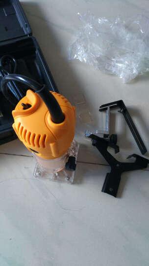 库菲电动工具 木工修边机 多功能木工雕刻机开槽机 电木铣开榫机 铝体标配 晒单图