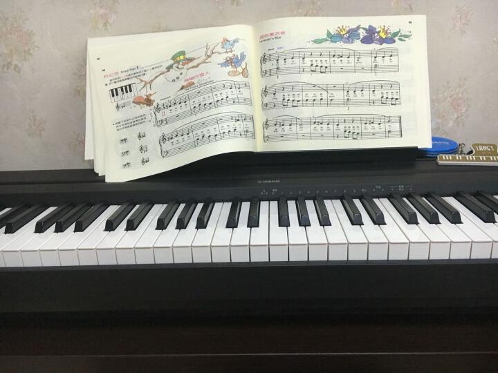 YAMAHA雅马哈电钢琴P48重锤88键智能数码钢琴儿童成人电子琴P95升级 顺丰发货 主机+单踏板 晒单图