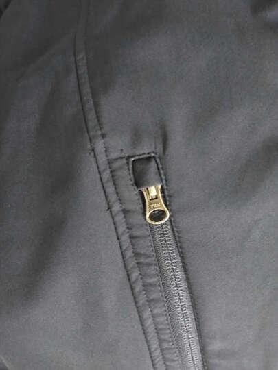 佐丹奴夹克 男装防风复合网布外套 男连帽长袖运动外衣男01076653 66标志海军蓝色 小码(165/92A) 晒单图