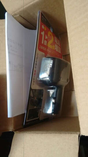 日本YAC 汽车点烟器电源转换器车载充电器插座扩展电源 PZ-507一拖三折叠式 晒单图