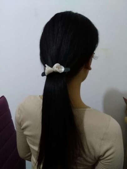 tsful 简约优雅发夹女 横夹一字夹短发发夹发饰弹簧夹马尾夹发卡韩版头饰 白玉色 晒单图