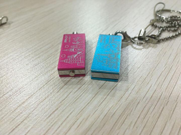 PNY 必恩威() 四色双子 金属usb2.0 8G/16G/32G/ U盘 忧郁紫16G 晒单图
