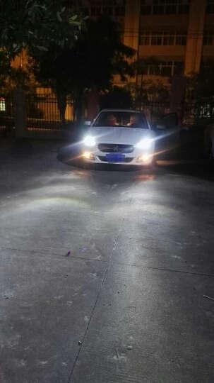 车圆数汽车led大灯灯泡专车专用高亮安全无损安装H1H7远近光套装 专车专用LED大灯 远近一体/一套 丰田雷凌 威驰 晒单图