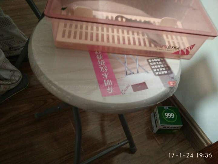 乔明(CHARMING) 休闲椅凳子 折叠椅凳子 小圆凳子 碳钢MDF板EME-DY002 晒单图