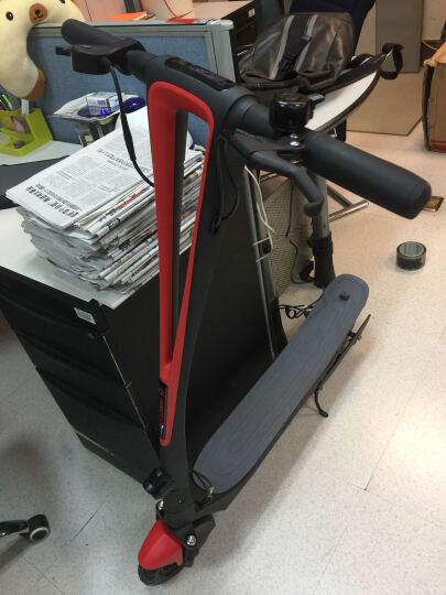 乐行天下(InMotion)lively 电动滑板车 智能代步车 可折叠便携电动车(黑红色) 晒单图