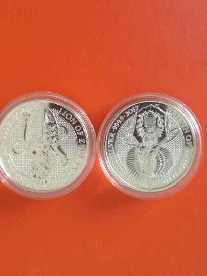 【甲源文化】英国神兽系列银币.2盎司银币 99%纯银全品投资外国银币套装 2017年格里芬狮鹫单枚装 送全套配件 晒单图