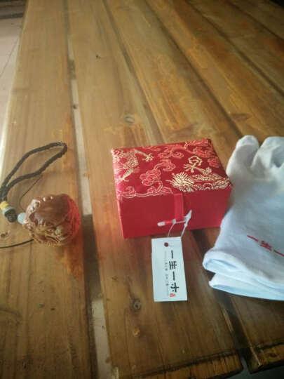 一生一木 手把件生日送男女友老人礼物的实用高档衣服配饰按摩送父母生老人公司客户商务礼品实用圣诞节礼物 崖柏手把件(避邪貔貅款) 晒单图
