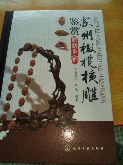 包邮 核雕:工艺与鉴赏+苏州橄榄核雕鉴赏:新锐名家  2本 晒单图