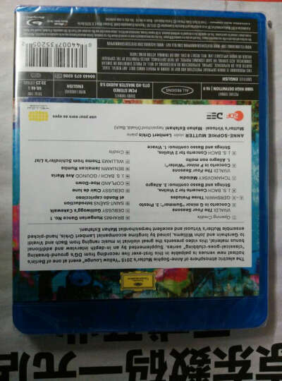 Blu-Ray-黄色酒廊古典新创意-索菲·穆特 晒单图