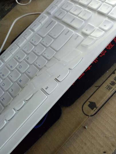 联想(lenovo)键盘膜  巧克力键盘膜 彩色键盘膜 凹凸键盘膜 K5819 联想一体机半透明紫色键盘膜 C340/IR358 晒单图