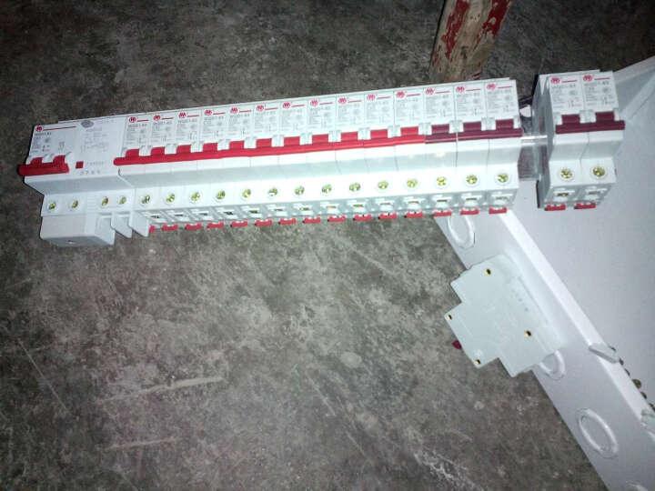 万千家用配电箱强电箱12回路套装配开关断路器 开关盒配电盒开关箱 18回路暗装配电箱 晒单图