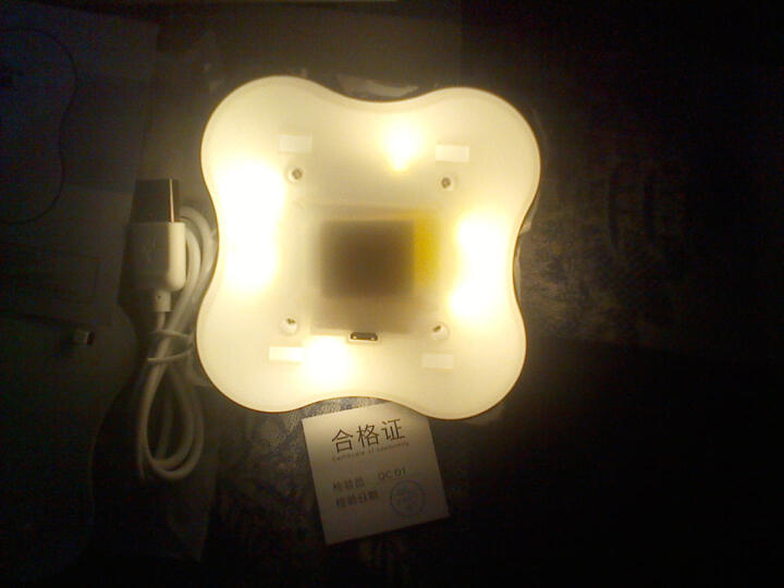 谷无忧 LED人体感应灯光控婴儿喂奶小夜灯卧室衣柜楼道走廊壁灯应急照明灯橱柜抽屉卫生间 温馨暖白光-3000K USB-充电款 晒单图