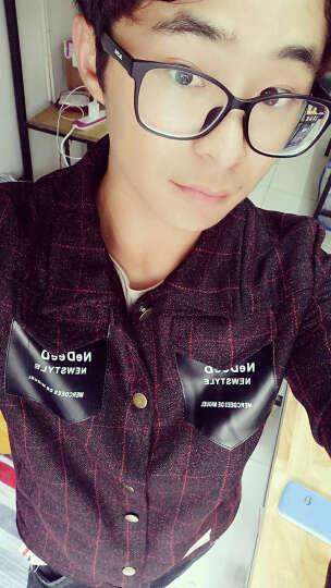 迭戈(Diege)秋冬青年外套 棒球服修身春季新款夹克男 潮 浅灰 色 4XL/190 晒单图