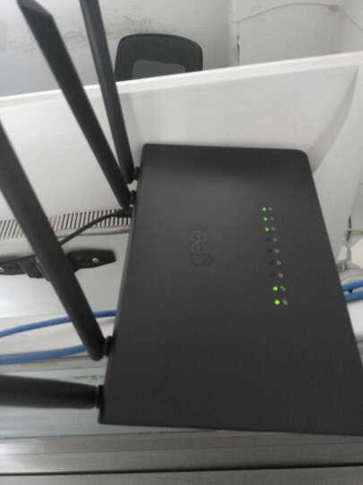极路由极卫星无线WiFi放大器中继器智能无线网桥AP增强信号 晒单图