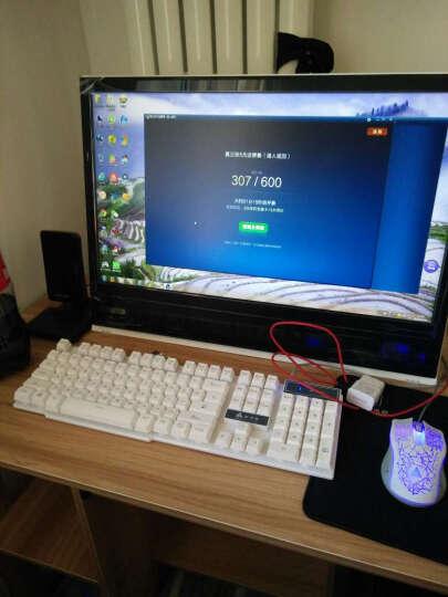 小酷鸟 酷睿i5/8G/GTX1050/SSD游戏办公台式电脑主机/DIY组装机 大圣黑色机箱 i3+GTX650 晒单图