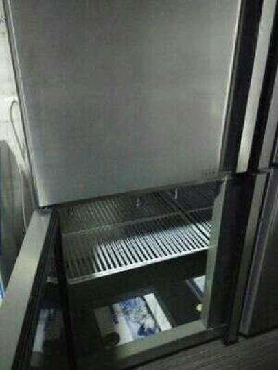 ?格盾(gedun) 双门四门商用冰柜 保鲜柜 冷冻柜 冷藏柜 可视立式冰箱 (六门双温上冷藏玻璃门下冷冻不锈钢门) 晒单图
