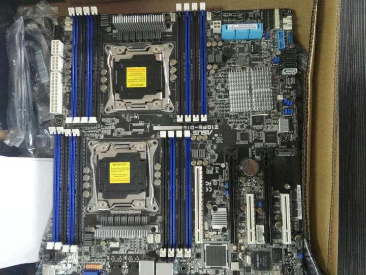 华硕(ASUS) Z10PE-D16(双CPU/双千兆/512G内存) 视频超算渲染游戏主板 晒单图
