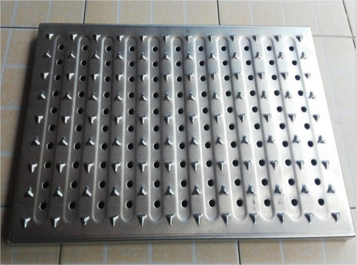 不锈钢厨房盖板地沟排水沟304不锈钢格栅下水道水篦子水槽防滑板 304/24.5cm/2mm/米 晒单图