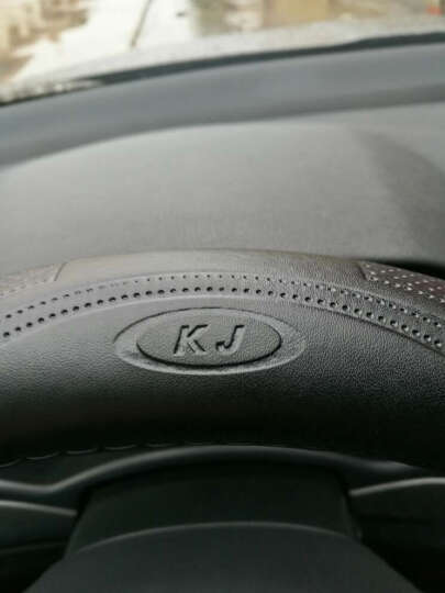 卡佳新款K3真皮方向盘套牛皮把套奥迪宝马大众现代本田别克丰田龙威马自达福特起亚日产标志哈佛 黑红色 宝马1系3系GT4系5系GT6系7系X3X5XM系 晒单图