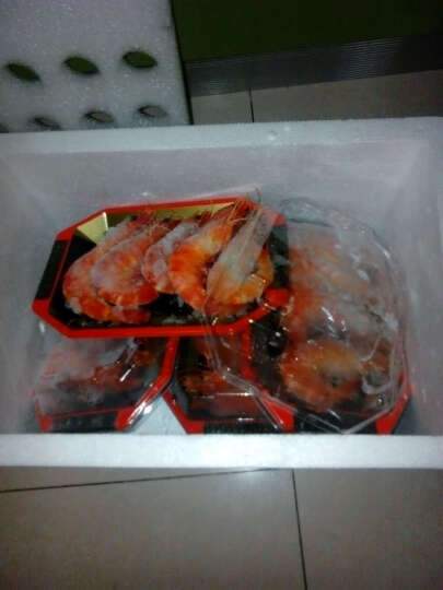翘牧歌 泰国黑虎虾160g/盒 5-6只装 海鲜水产 冷冻 大虎虾 黑虎虾 红皮虾  晒单图