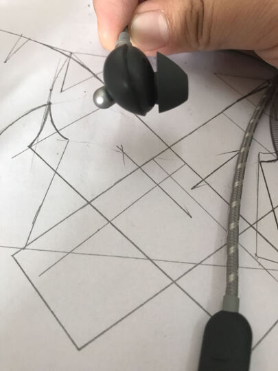 Libratone (小鸟音响)适用于苹果Lightning接口可调节降噪耳机 深空灰 晒单图