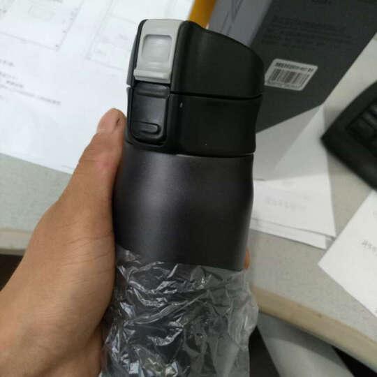 先行(CENSUN) 304不锈钢保温杯真空水杯直身杯子弹跳杯轻量水杯480ml 银色 晒单图